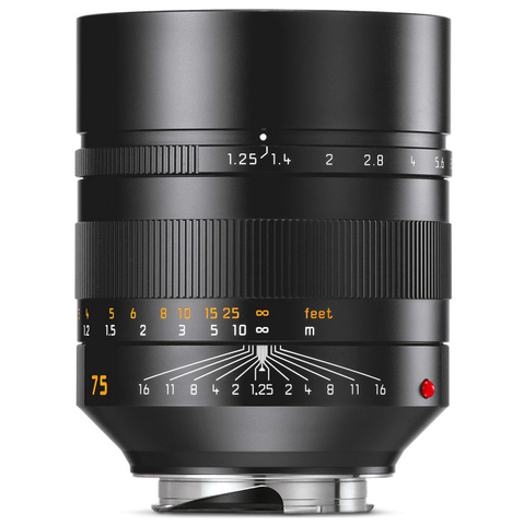 Leica Noctilux-M 75 mm f/1.25 ASPH