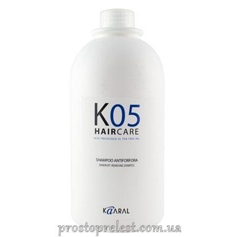 Kaaral К05 Dandruff Removing Shampoo - Шампунь против перхоти