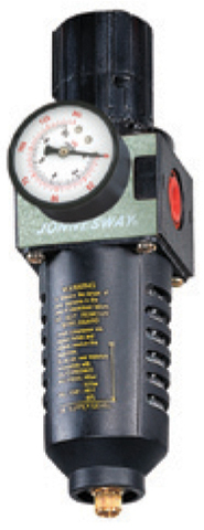 JAZ-6715 Фильтр-сепаратор с регулятором давления для пневматического инструмента 3/8