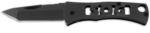 Купить Складной нож SOG Мод. MICRON I TANTO BLACK 97074 по доступной цене