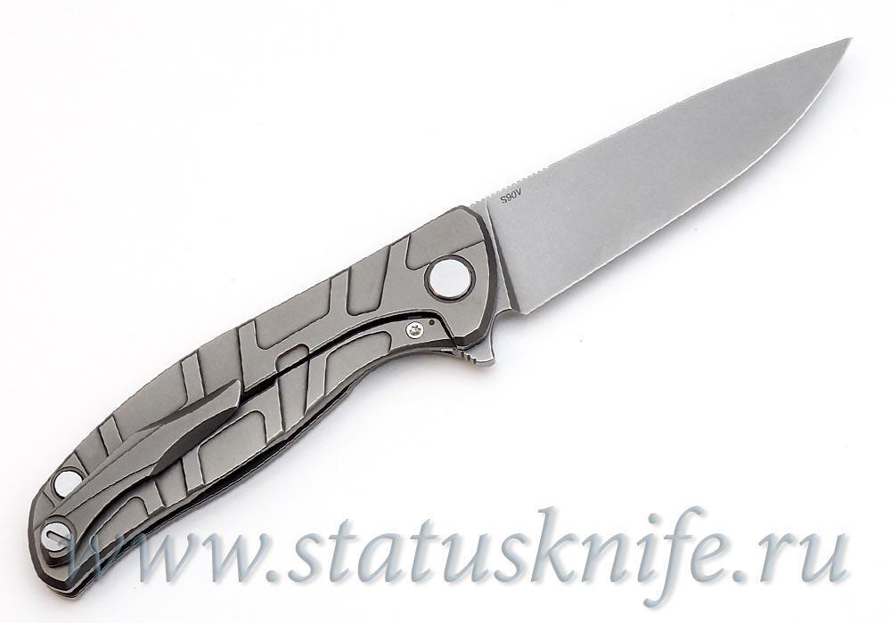 Нож Широгоров Флиппер 95 S90V S узор T подшипники