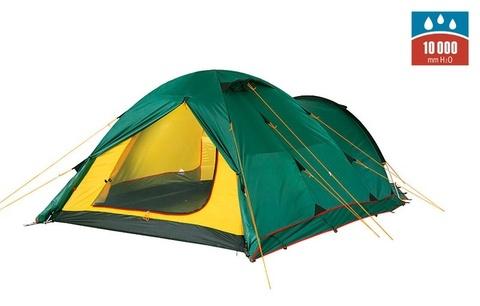 палатка Alexika TOWER 3 Plus green, 420x190x115