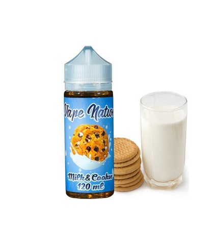 Vape Nation Milk and Cookie 120 мл