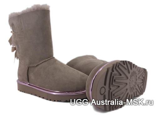 UGG Bailey Bow II Metallic Dusk