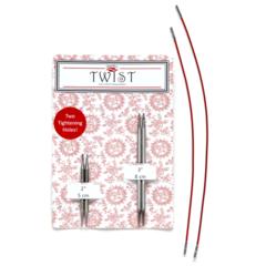 ChiaoGoo Съемные металлические спицы 5 и 8 см Twist Shorties