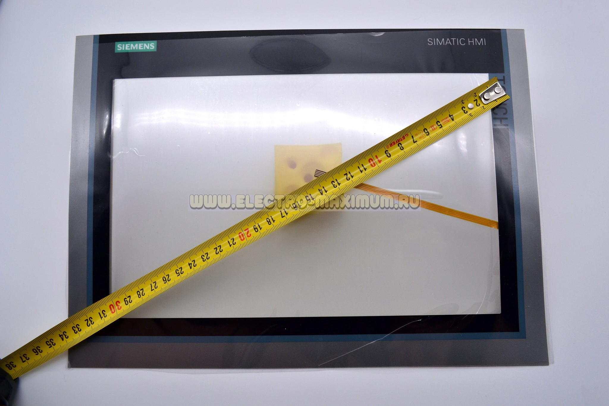 TP1200 touch screen with membrane keypad