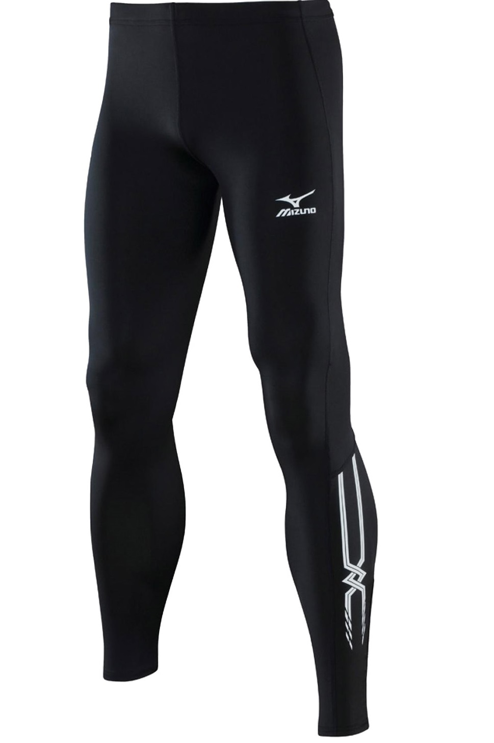 Тайтсы для бега Mizuno Long Tight 202 (52RT202M 09) мужские