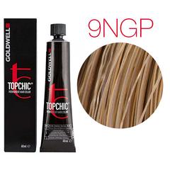 Goldwell Topchic 9NGP (натуральный золотисто-перламутровый) - Cтойкая крем краска