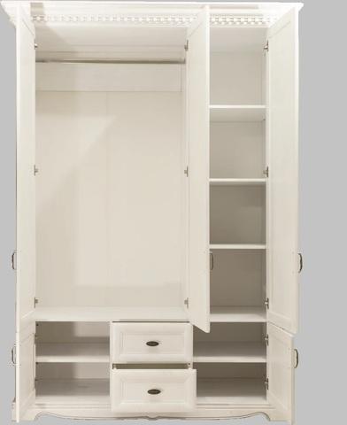Шкаф 3 дв. Афина с декором