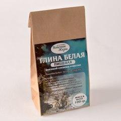 Глина Белая Пищевая, пакет, 100 гр. (Романовский)