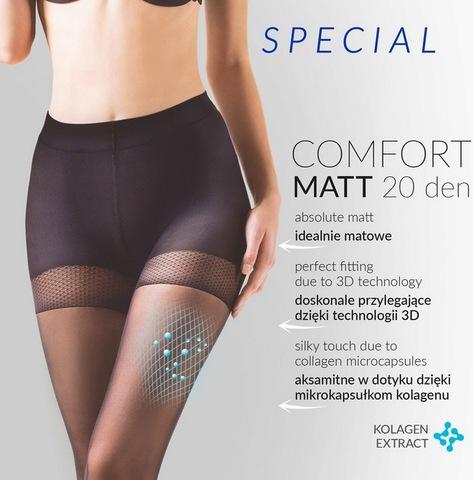 Утягивающие колготы Comfort Matt 20 den (BS)