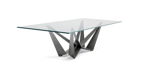 replica table CATTELAN SCORPIO  GLASS ( by Steel Arts)