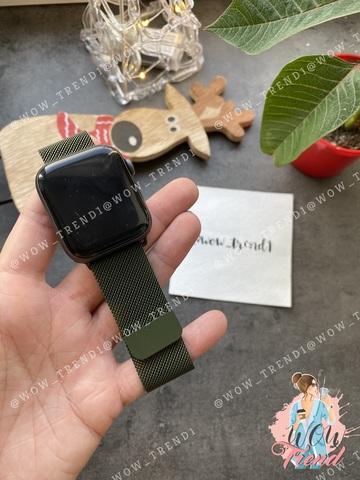 Ремешок Apple watch 38/40mm Milanese Loop /virid/