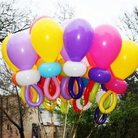 Соска из воздушных шаров