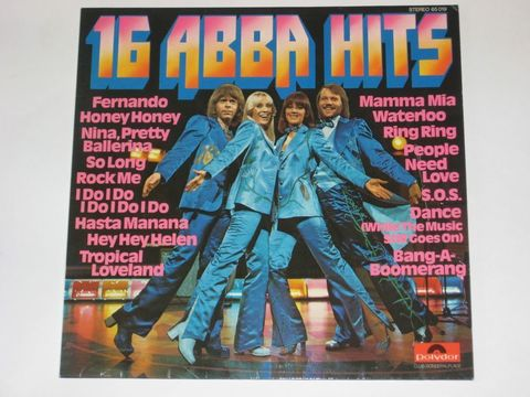 ABBA / 16 ABBA Hits (LP)