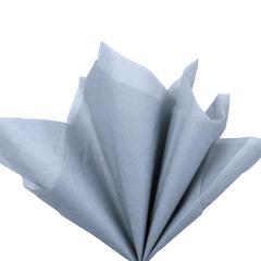 Бумага тишью, светло-серая 76 Х 50 см, 10 листов 28 г/м
