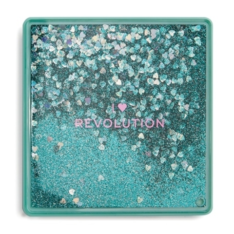 Палетка теней Makeup Revolution I Heart Makeup Glitter Palette, Starry Eyed
