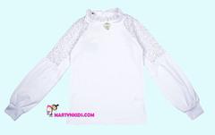 1635 блузка брошка