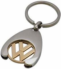 Брелок хромированный с логотипом Volkswagen