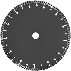 Круг отрезной с алмазн. напылением ALL-D 230 PREMIUM
