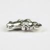 "Подвеска ""Мышка"" (цвет - античное серебро) 12х7 мм"