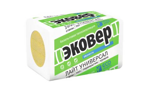 Эковер Лайт Универсал 35 кг/м3 1000х600х100 6 шт