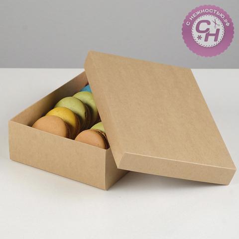 Коробка картонная без окна, 21 x 15 x 5 см, 1 шт.