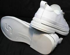 Повседневные женские кроссовки с подошвой туфель El Passo sy9002-2 Sport White.