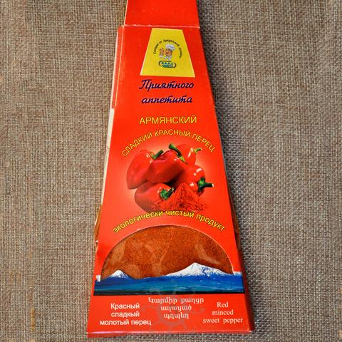 Перец красный молотый сладкий РАС, 50г