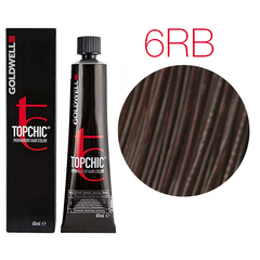 Goldwell Topchic 6RB (красный бук) - Cтойкая крем краска 60мл