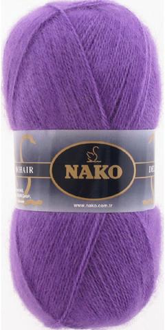 Купить Пряжа Nako Mohair Delicate Код цвета 6118 | Интернет-магазин пряжи «Пряха»