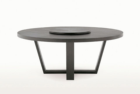 replica table LOTUS  ROUND WOOD ( by Steel Arts)