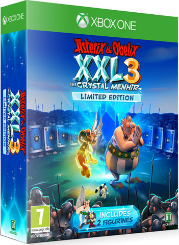 Xbox One Asterix & Obelix XXL 3: The Crystal Menhir Limited Edition (русская версия)