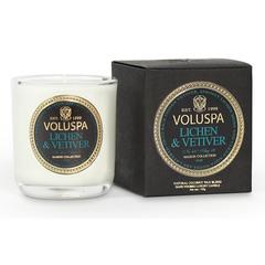 Ароматическая свеча Voluspa в маленьком подсвечнике