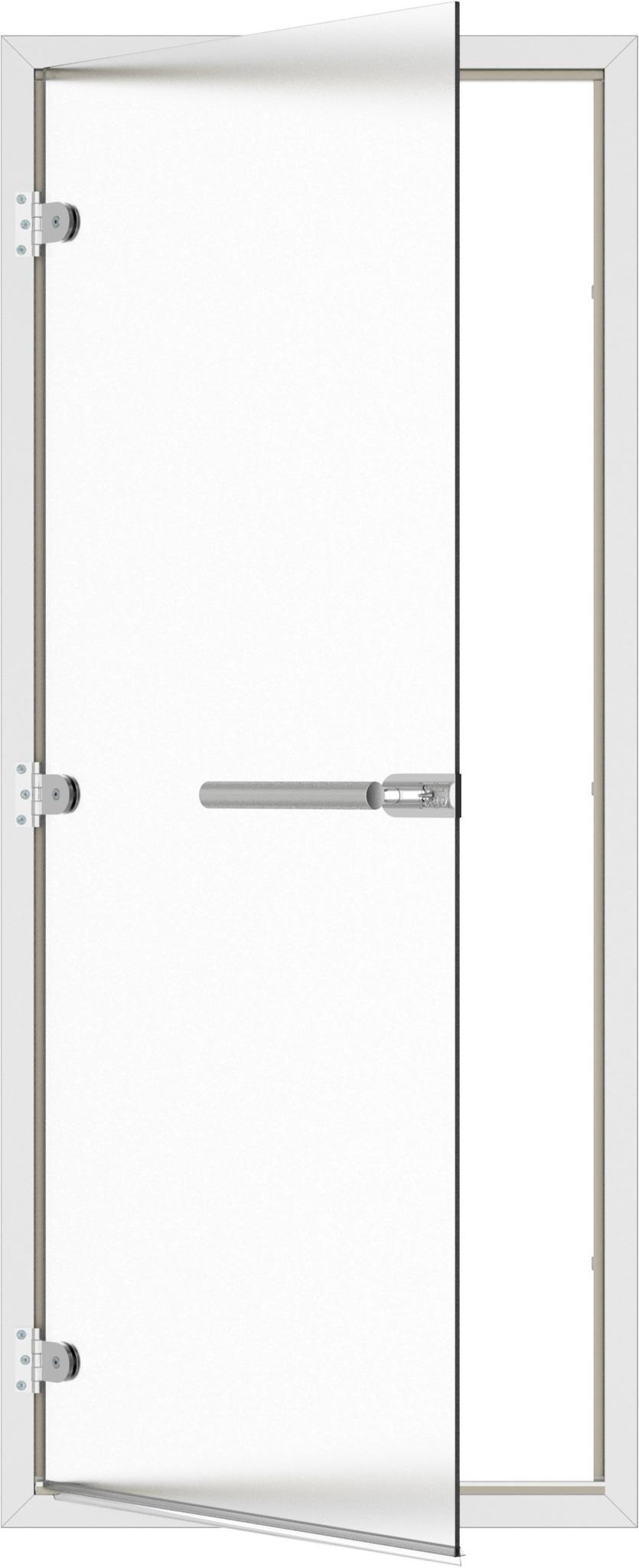 Двери: Дверь SAWO ST-746-L 8/19 (коробка алюминий, левая)