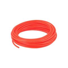 Трубка полиуретановая PU оранжевая 12х8 мм, 1 метр