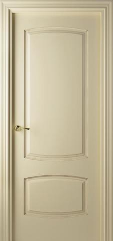 Дверь Valdo Puertas 844 (слоновая кость, глухая, массив хвойных пород)