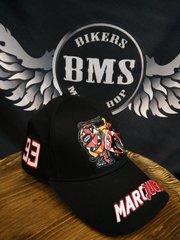 Бейсболка Original Moto GP - Marquez, чёрный