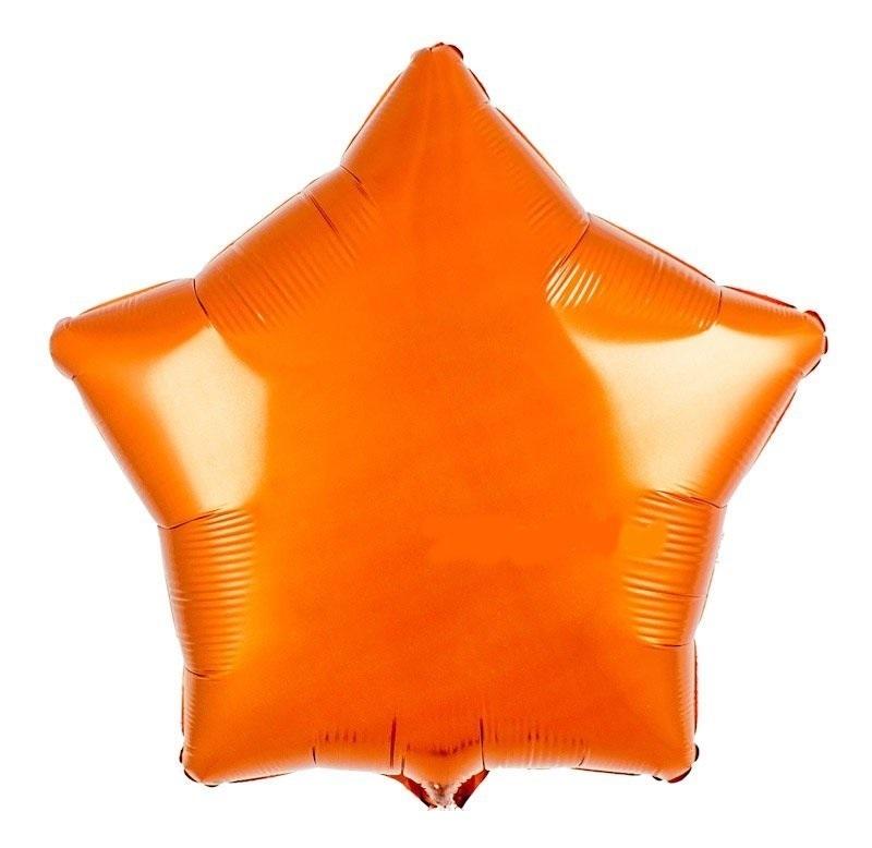 Шар Звезда Оранжевый