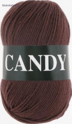 Фото Пряжа Vita: Candy цвет 2535 Темный молочный шоколад - купить в интернет-магазине