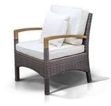 Кресло Verona серо-коричневое
