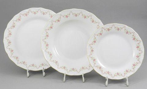 Набор тарелок 18 предметов Верона Leander