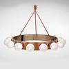 Italamp 2390 S Satin BRZ NK — Потолочный подвесной светильник ROLL