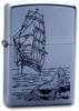 Зажигалка ZIPPO Mermaid Satin Chrome латунь/никель-хром (205 Mermaid)