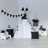 Вигвам Black & White Tipi (детский игровой домик, палатка)