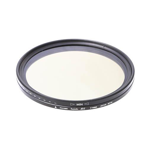 Светофильтр Fujimi Vari-ND / ND2-ND400 62mm нейтрально-серый фильтр с переменной плотностью