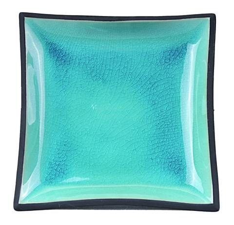 Тарелка Tokyo Design Studio Glassy Turquoise 8155