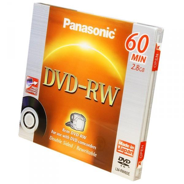 Диск Panasonic mini DVD-RW LM-RW60E (для видеокамер)