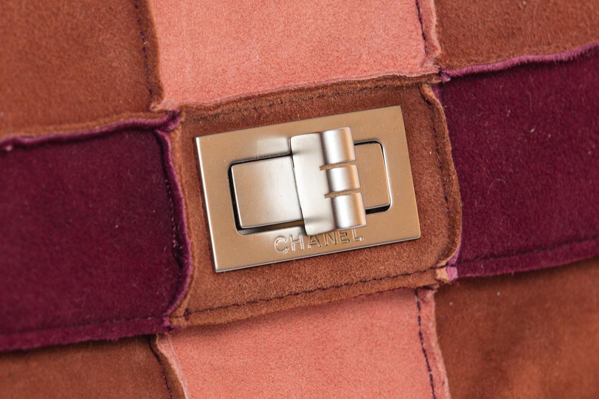 Замшевая сумочка в стиле пэчворк от Chanel
