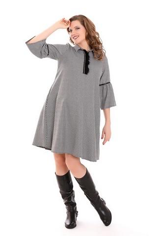 Платье 09211 черный